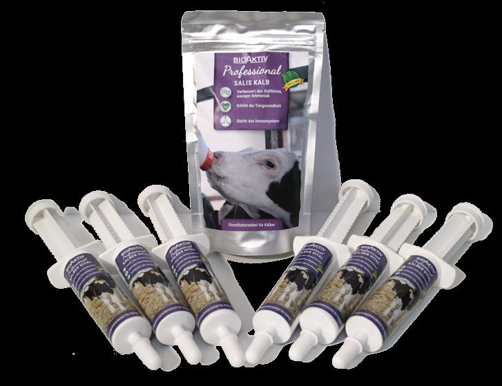Kombipaket Kalb (6 Spritzen Kälber Vital + 500 g Salis Kalb)